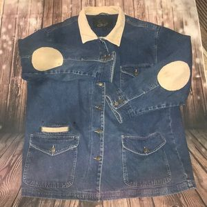 Ladies XL denim work/barn coat jacket .corduroy